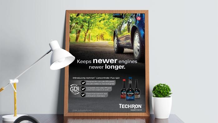 Cehvron Techron GDI Poster Europe