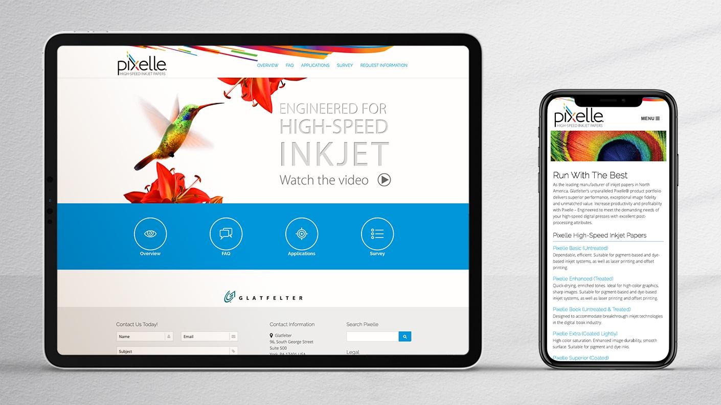 2 Pixelle Web iPad Pro iPhone 11 1410x793